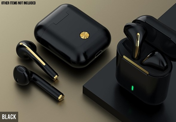 Bluetooth 5.0 Touch Control True Stereo Wireless Earphones - Four Colours Available