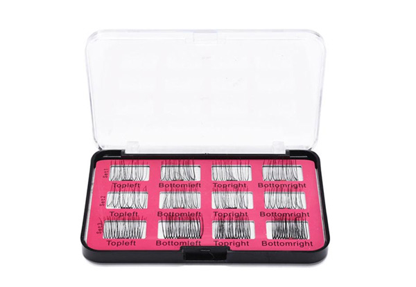12-Pieces 3D Magnetic Eyelashes Set - incl. Mini Tweezer Tool with Free Delivery