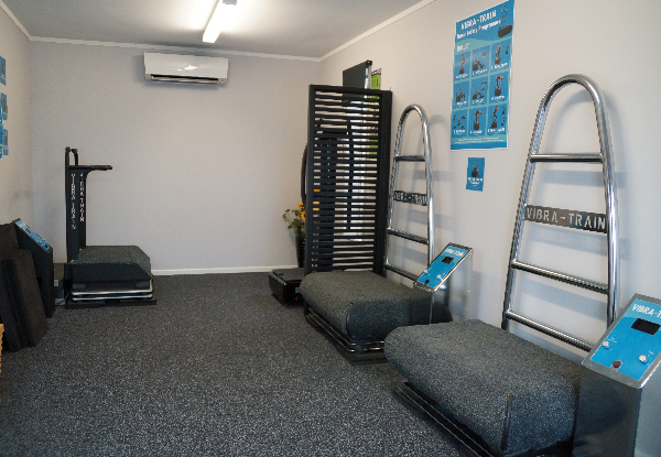 Six Vibration Training Sessions incl. a Body Composition Analysis for One Person - Options for Two or Four People & for Nine Sessions