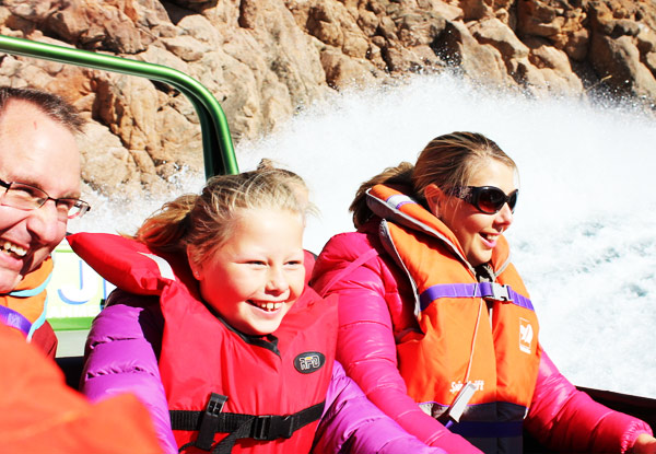 $39 for a Child Amuri Jet Boat Ride or $55 for an Adult Ride (value up to $125)