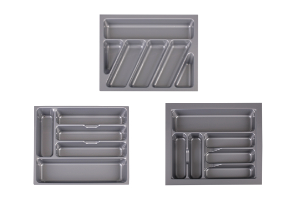 Kitchen Cutlery Tray Organiser - Three Options Available & Option for Two