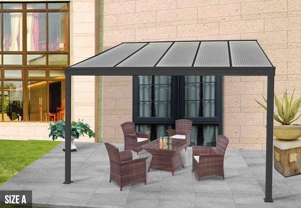 Aluminium Patio Canopy Grabone Nz