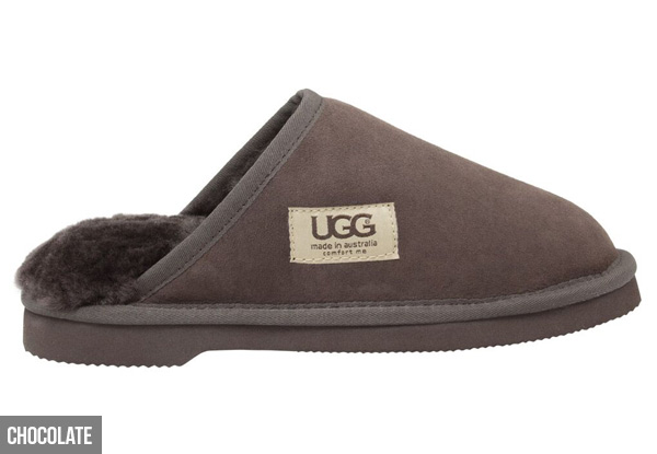 Comfort Me Unisex Australian Made Memory Foam Classic UGG Scuffs - Three Colours Available