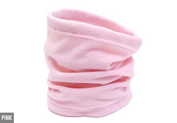 Two-Pack of Soft Neck Warmers - Five Colours Available