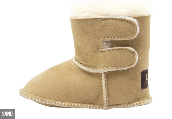 Auzland Classic 'Baby' Australian Sheepskin Baby UGG Boots - Four Colours Available