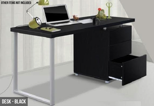 Stylish White or Black Computer Desk (Essential Item)