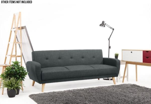 Oslo Sofa Bed Wooden Legs Grabone Nz