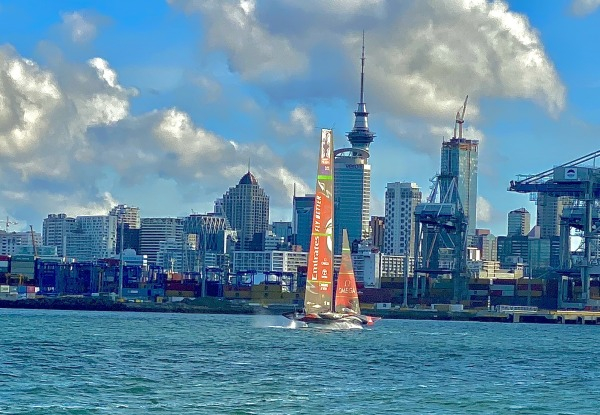 Auckland Harbour Sailing Adventure Lunch Cruise for One Person incl. a Certified Master Chef-Prepared Gourmet Meal - Options for Brunch Cruise or Dinner Sunset Cruise