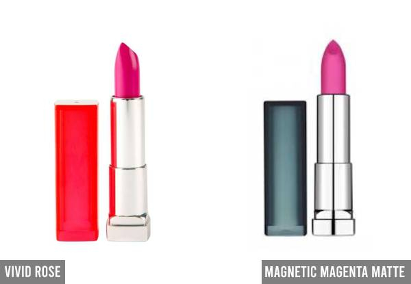 Maybelline Colour Sensational Lipstick Range - 15 Colours Available
