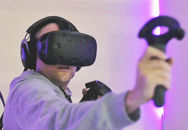 $25 for 45-Minute Virtual Reality Experience for One Person or $49 for 90 Minutes – Evening Sessions Only