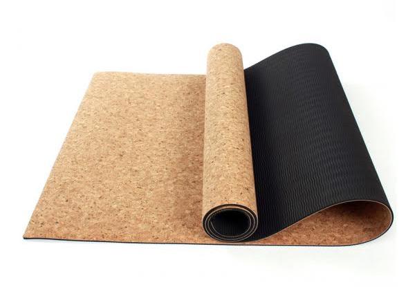 Natural Cork Yoga Mat Grabone Nz