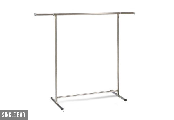 Stainless Steel Clothes Rack - Two Sizes Available