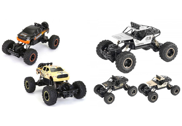 Children's Remote Control Climbing Rally Cars - Two Options Available