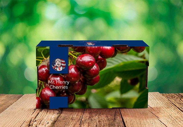 2kg Box of Fresh Export Quality Premium  Cherries Delivered to Your Door from 4th July 2019 - Options For Auckland or Nationwide Urban Delivery