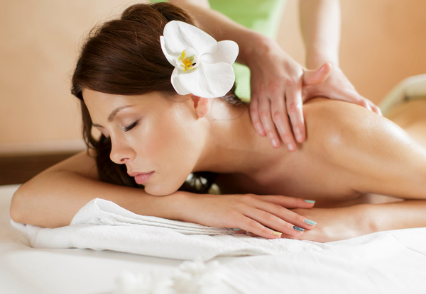 90-Minute Fijian Coconut Relaxation Massage Package incl. Body Butter Back Treatment & Express Facial - Options for Hot-Stone Massage