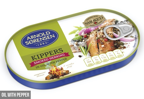30-Pack of Smoked Herring - Two Flavours Available