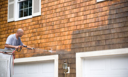 Professional Exterior House Wash GrabOne