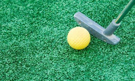 18 holes golf:
